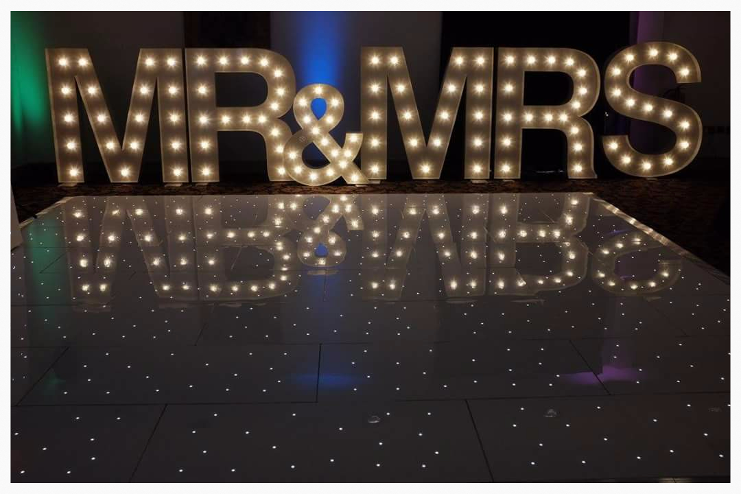 MR & MRS letters North East