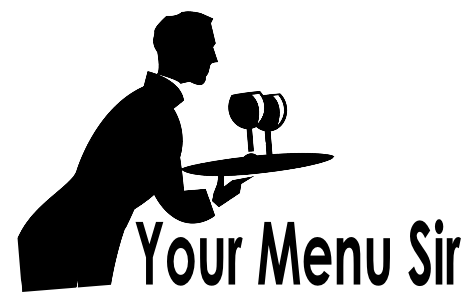 Singing Waiters Menu Icon